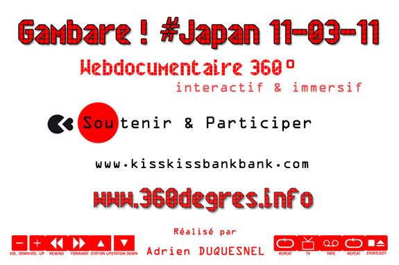 Soutenir Webdoc Gambare Japon 11-03-11